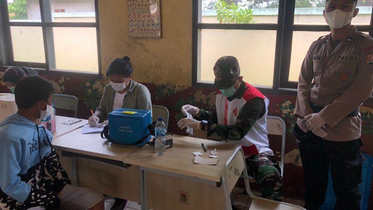 Guna Percepatan Vaksinasi, Polsek Rajeg Polresta Tangerang kembali Membuka Gerai Vaksinasi Presisi