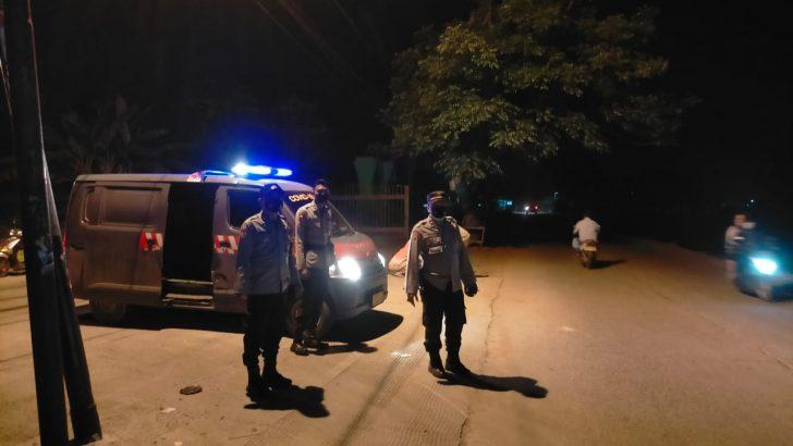 Jajaran Polsek Mauk Giat Patroli di Wilayah Hukum