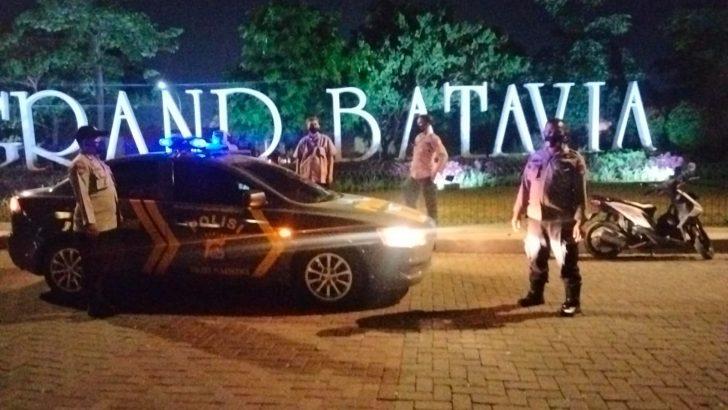 Untuk meningkatkan Pendisiplinan Prokes Polsek Pasarkemis Polresta Tangerang Gelar Patroli Malam