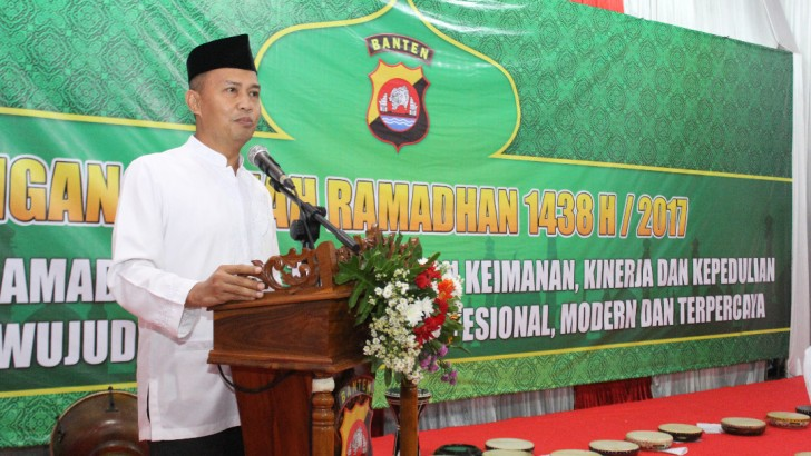 Safari Ramadhan, Wakapolda Banten Ajak Ulama Perangi Terorisme