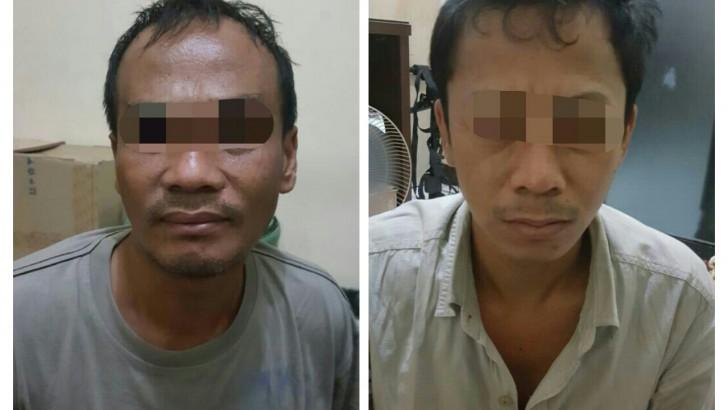 Asyik Transaksi Narkoba, Dua Pelaku Digelandang ke Mapolres Kota Tangerang