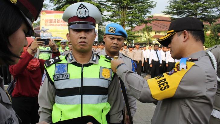 Kapolres Kota Tangerang Pimpin Apel Gelar Pasukan Operasi Ramadniya Kalimaya 2017
