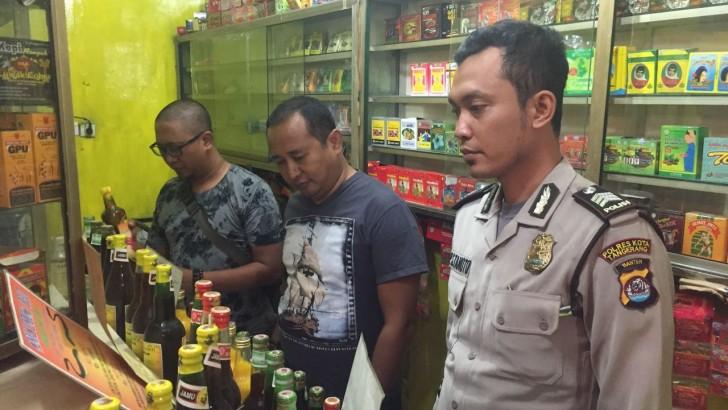 Operasi Cipta Kondisi, Puluhan Botol Miras Diamankan Polsek Balaraja