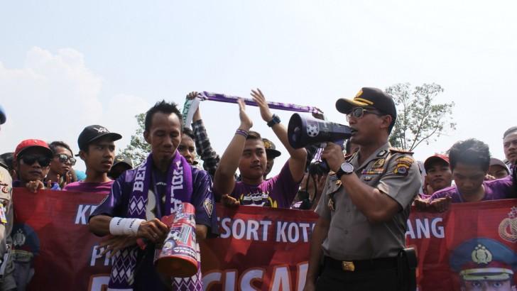 Tangerang Jawara Rangkul Suporter Pendekar Cisadane