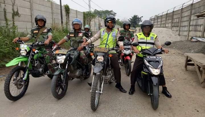 Jelang Pilkades, Polri dan TNI Tingkatkan Patroli