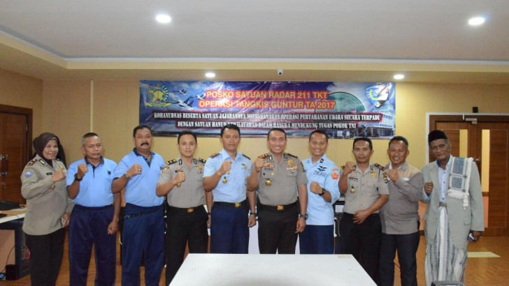 Perkuat Keharmonisan, Kapolresta Tangerang Sambangi Markas Satuan Radar 211