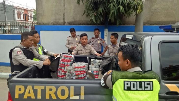 Razia Mercon, Polresta Tangerang Sita Petasan di Pasarkemis