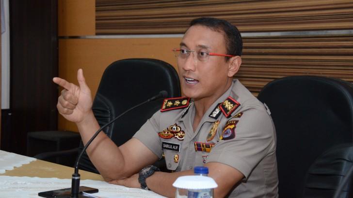 Tim Raimas Polresta Tangerang Kawal Aksi Buruh Ke Gubernur Banten