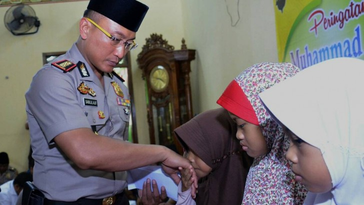 Kapolresta Tangerang Ajak Anggota Teladani Rasul