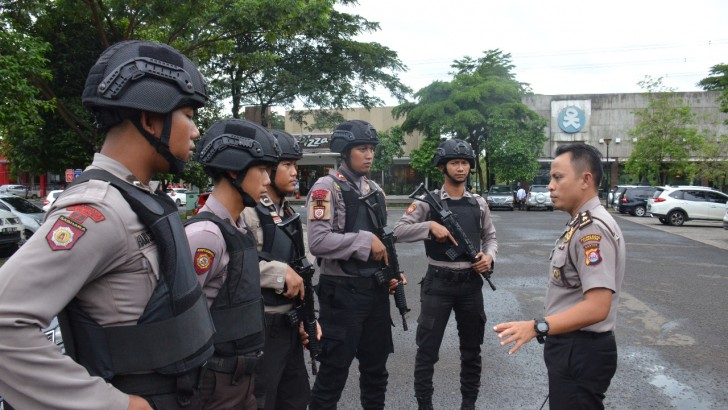 Cegah Sweeping, Polisi Amankan Pusat Keramaian