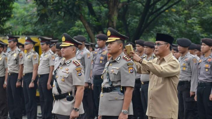 Kapolresta Tangerang Pimpin Sertijab Wakapolres