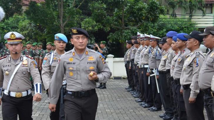 Polresta Tangerang Gelar Apel Pasukan Operasi Kalimaya 2017