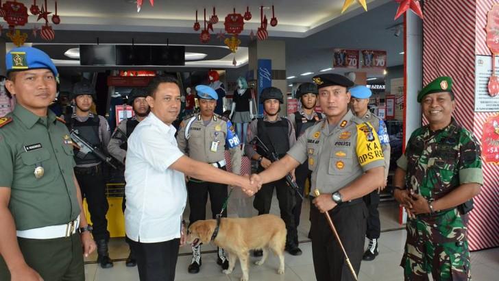 Bawa K-9, Kapolresta Tangerang Pimpin Pasukan Pengamanan Cegah Sweeping