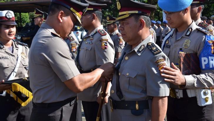 5 Perwira di Polresta Tangerang Diserahterimakan