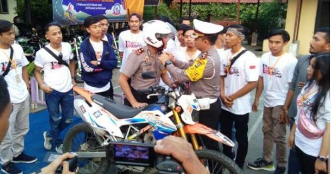 Satlantas Polresta Tangerang Ajak Generasi Milenial Menjadi Pelopor Safety Riding