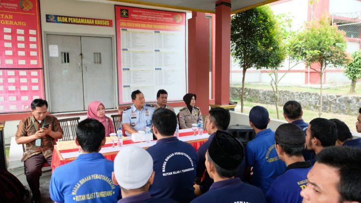 Datangi Polresta Tangerang, Puslitbang Mabes Polri Survei Kinerja Polri