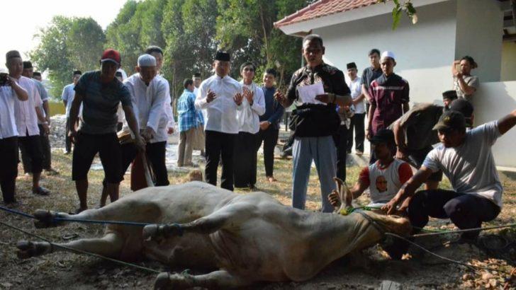 Dukung Kampanye Ramah Lingkungan, Polresta Tangerang Pastikan Tidak Gunakan Kantong Plastik untuk Daging Kurban