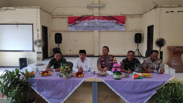 Pacu Pilkades Aman, Polresta Tangerang Gelar Safari Kamtibmas