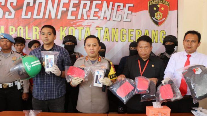 Melawan Saat Ditangkap, Perampok Minimarket Didor Sat Reskrim Polresta Tangerang