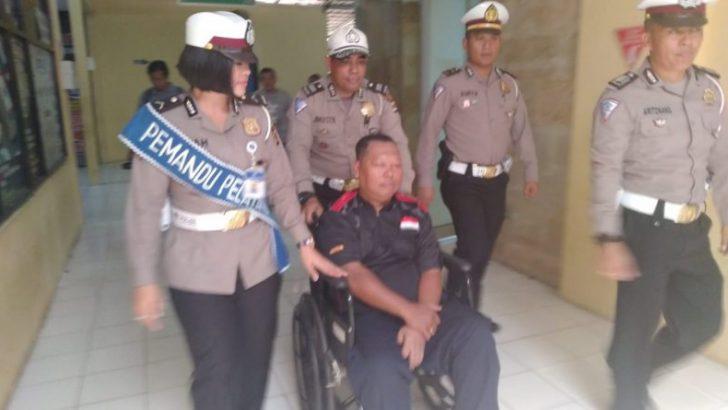 Satlantas Polresta Layani Pembuatan SIM Penyandang Disabilitas