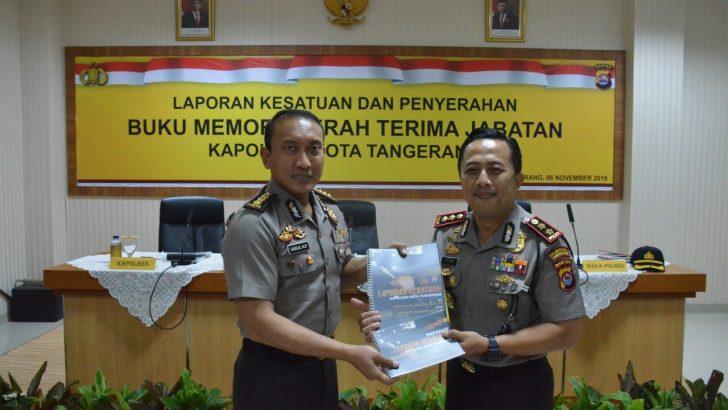 Resmi Bertugas, Kapolresta Tangerang Prioritaskan Dua Agenda