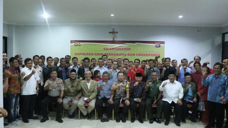 Silaturahmi ke FKUB, Kapolresta Tangerang Jamin Keamanan Ibadah Natal
