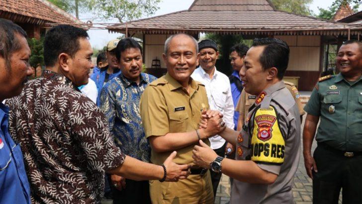 Terkait UMK, Kapolresta Tangerang Temui Unsur Serikat Buruh dan Apindo