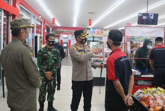 Kapolresta Tangerang Pimpin Operasi Yustisi Bersama Pemkab dan Kodim Tigaraksa