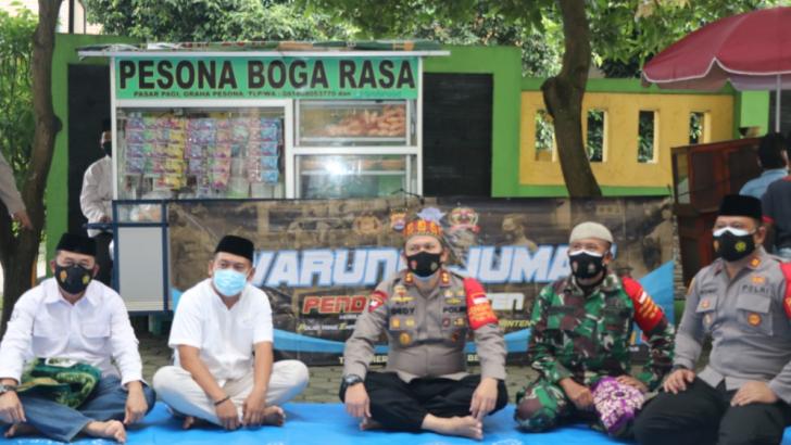 Mantap! Wujudkan Polisi Empati, Mengayomi dan Dekat Rakyat, Polresta Tangerang Buka Warung Jumat