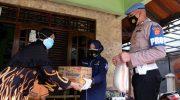 Laksanakan Pos Sanjung, Tim Urdokes Polresta Tangerang Sambangi Anggota yang Sedang Sakit