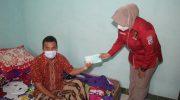 Laksanakan Pos Sanjung, Tim Urkes Polresta Tangerang Jenguk Aiptu Sartono