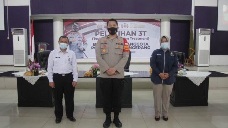 Tingkatan Optimalisasi Tim Tracer, Polresta Tangerang Gelar Pelatihan 3T