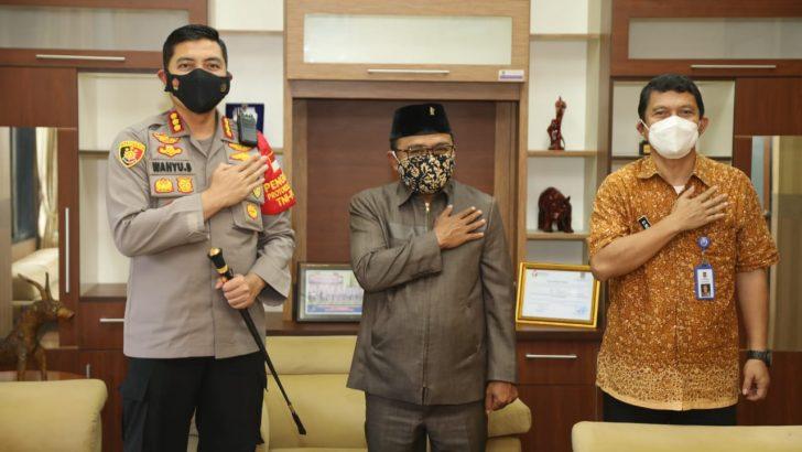 Tingkatkan Silaturahmi, Kapolresta Tangerang Kunjungi Ketua DPRD