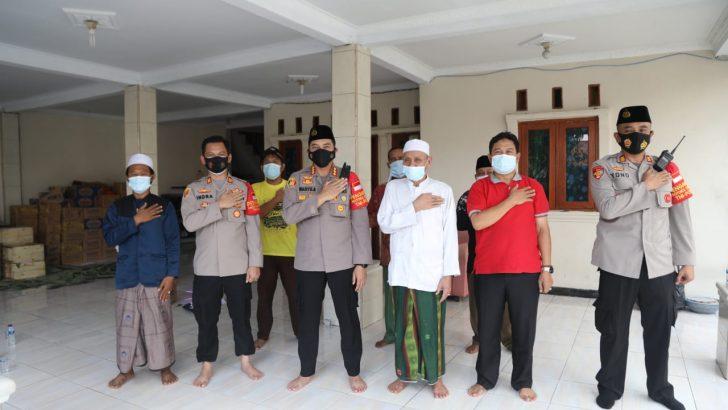 Kampanyekan Tertib Prokes, Kapolresta Tangerang sambangi Tokoh Agama desa Cikupa