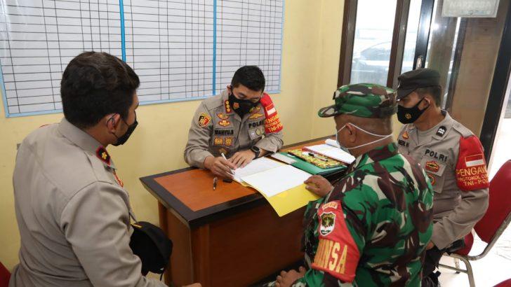 Laksanakan Asistensi, Kapolresta Tangerang Cek Posko PPKM Mikro Desa Tobat