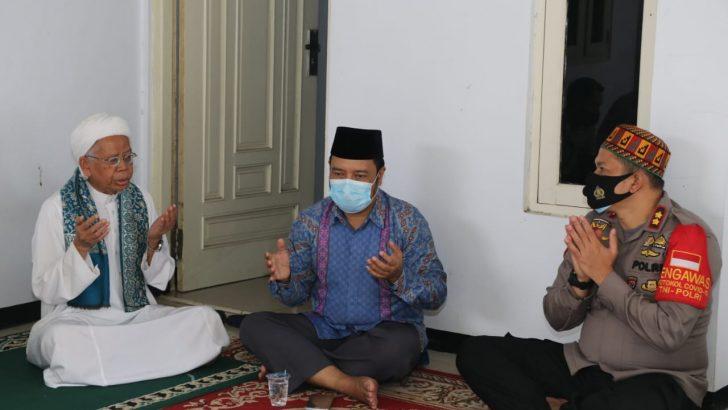 Saba Pesantren, Wakapolresta Tangerang Dorong Ulama Imbau Masyarakat Disiplin Protokol Kesehatan