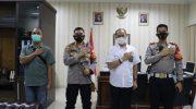 Tingkatan Kerja Sama di Bidang Penegakkan Hukum, Kapolresta Tangerang Silaturahmi ke Ketua PN Tangerang