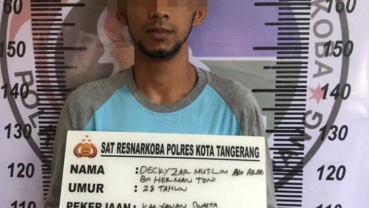 Kerap Transaksi di Warnet, Pengedar Sabu Dibekuk Polresta Tangerang