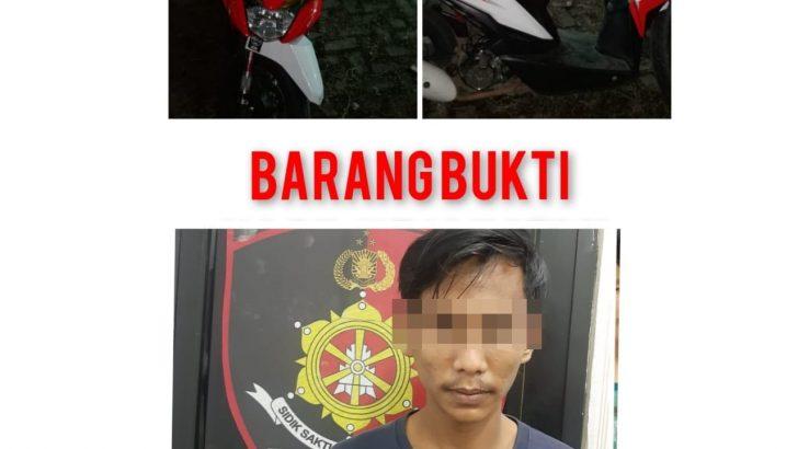 Polresta Tangerang Bekuk Pelaku Penadah Motor Curian