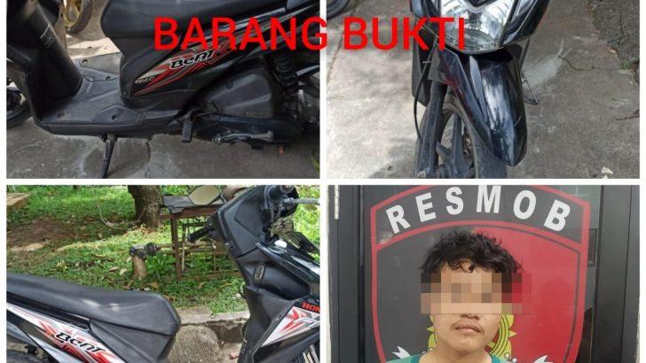 Dalam Hitungan Jam, Pelaku Curanmor di Minimarket Berhasil Dibekuk Polresta Tangerang