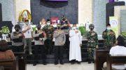 Amankan Paskah, Kapolda Banten Kunjungi Gereja Santa Odelia Citra Raya