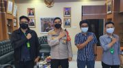 Terima Audiensi Himata Banten Raya, Kapolresta Tangerang Ingatkan Mahasiswa Waspada Radikalisme di Kalangan Milenial