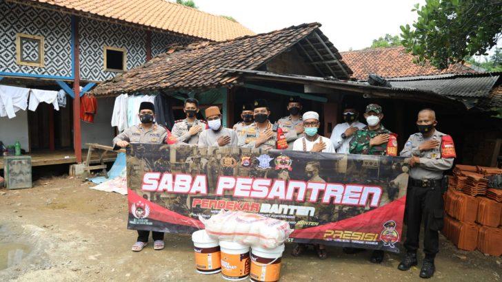 Silaturahmi ke Ponpes Daarul Azkiyah, Kapolresta Tangerang Imbau Santri Tertib 5M