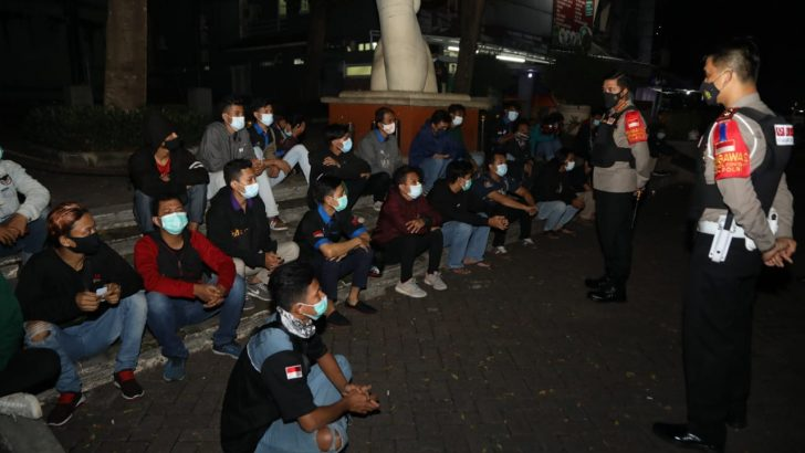 Operasi Cipkon Patroli Skala Besar, Polresta Tangerang Amankan 24 motor Tidak Sesuai Spesifikasi