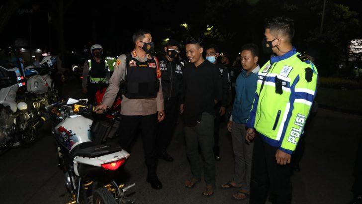Gelar Patroli Skala Besar, Polresta Tangerang Antisipasi Guantibmas dan Fokus Cegah Covid-19
