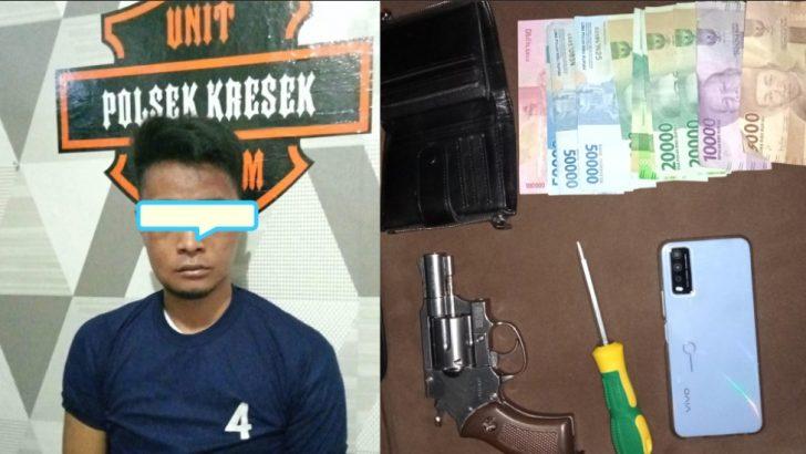 Curi HP dan Miliki Air Softgun, Seorang Pria Dibekuk Polresta Tangerang