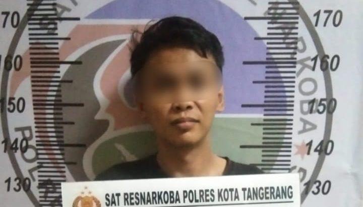 *Miliki 66,97 Gram Sabu, Pria di Jayanti Diciduk Satresnarkoba Polresta Tangerang*