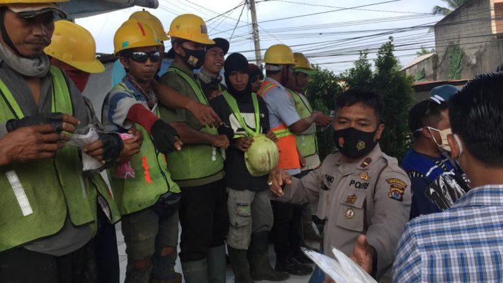Dorong Masyarakat Disiplin Prokes, Polresta Tangerang dan 3 Pilar Bagikan 29.571 Helai Masker di 122 Titik Lokasi