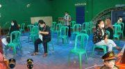 Gandeng Potmas, Polresta Tangerang Amankan Pelaksanaan Vaksinasi di Desa Cangkudu