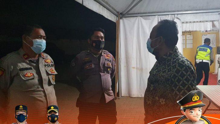 Ombudsman Banten Pemantauan Pelaksanaan PPKM Level 4 di Kab. Tangerang.